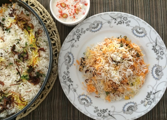 Awadh Vegetable Biriyani