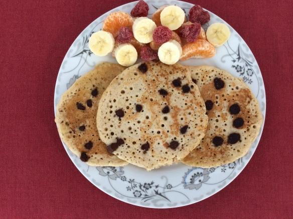 Rice and oats pancake